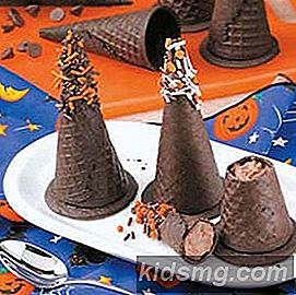 Mousse-Filled Witches 'Hatter