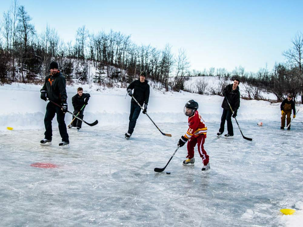 Vores Canada Theme Pic Udfordring: Outdoor Winter Activities
