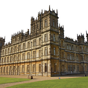 Downton Abbey's virkelige livssteder